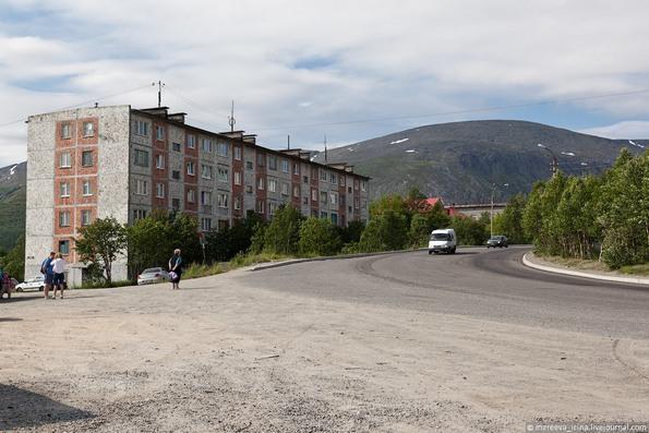 Кировск Мурманской области летом - фото