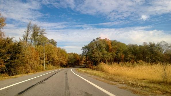 По дороге к Красногорняцкому - фото