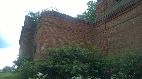 Абакумово - церковь Илии Пророка