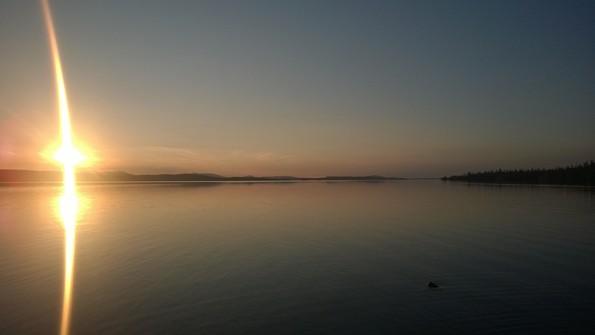 Имандра на закате