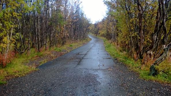 Осень в Кировске