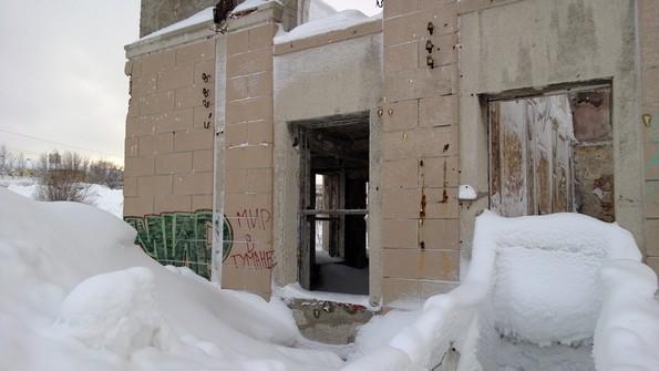 вокзал в Кировске Мурманской области фото