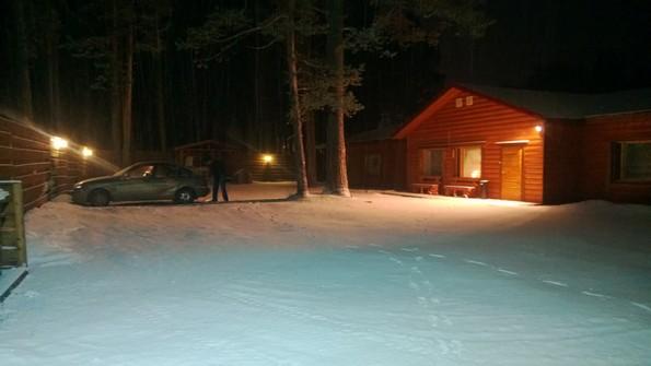 Малая Медвежка в снегу