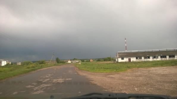 Въезд в село Гремяки - фото