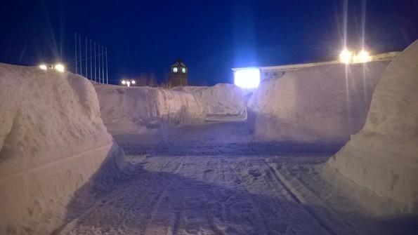 Зима на Кольском полуострове: Кировск