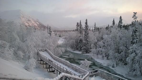 Реки Кольского полуострова - Вудъяврйок