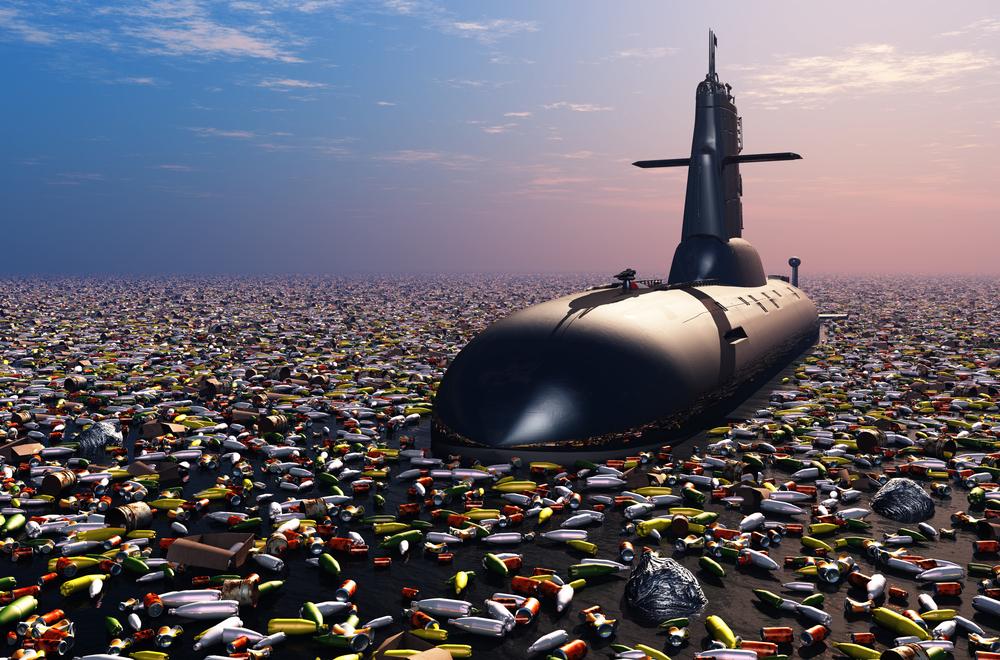 Великое Тихоокеанское мусорное пятно